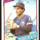 California Angels Bert Campaneris 1980 Topps Baseball Card # 505 ex/nm