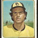 San Diego Padres Variation Rich Troedson 1974 Topps Baseball Card #77 fair/good