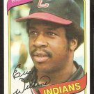 Cleveland Indians Eric Wilkins 1980 Topps Baseball Card # 511 nr mt