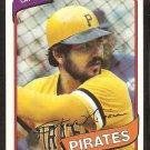Pittsburgh Pirates Steve Nicosia 1980 Topps Baseball Card # 519 nr mt