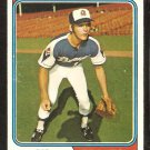 Atlanta Braves Rod Gilbreath 1974 Topps Baseball Card # 93 vg