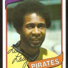 Pittsburgh Pirates Lee Lacy 1980 Topps Baseball Card # 536 nr mt