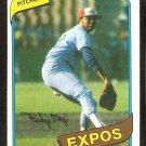 Montreal Expos Rudy May 1980 Topps Baseball Card # 539 ex/em