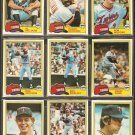 1981 Topps Minnesota Twins Team Lot Roy Smalley Ron Jackson Geoff Zahn John Castino Jerry Koosman