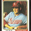 Chicago White Sox Wilbur Wood 1974 Topps Baseball Card # 120 vg/ex