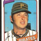Pittsburgh Pirates Joe Coleman 1980 Topps Baseball Card # 542 nr mt