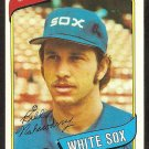 Chicago White Sox Bill Nahorodny 1980 Topps Baseball Card # 552 nr mt