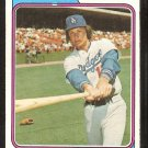 Los Angeles Dodgers Tom Paciorek 1974 Topps Baseball Card # 127 ex