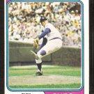 Chicago Cubs Rick Reuschel 1974 Topps Baseball Card # 136 good