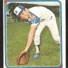 Atlanta Braves Darrell Evans 1974 Topps Baseball Card # 140 ex