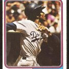 Los Angeles Dodgers Willie Davis 1974 Topps Baseball Card # 165 vg