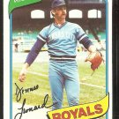 Kansas City Royals Dennis Leonard 1980 Topps Baseball Card # 565 nr mt