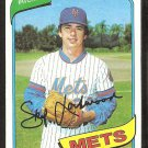 New York Mets Skip Lockwood 1980 Topps Baseball Card # 567 nr mt
