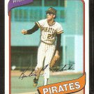 Pittsburgh Pirates Kent Tekulvie 1980 Topps Baseball Card # 573 nr mt