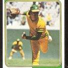 Oakland Athletics Ken Holtzman 1974 Topps Baseball Card # 180 good
