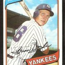 New York Yankees Brian Doyle 1980 Topps Baseball Card # 582 nr mt