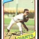 San Francisco Giants Greg Minton 1980 Topps Baseball Card # 588 nr mt
