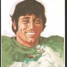 NEW YORK JETS JOE NAMATH 1972 DK STONE ARTWORK