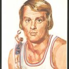 ABA NEW YORK NETS RICK BARRY 1972 DK STONE ARTWORK