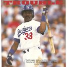 LOS ANGELES DODGERS EDDIE MURRAY 1990 PINUP PHOTO