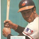BALTIMORE ORIOLES FRANK ROBINSON 1990 PINUP PHOTO
