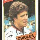 Baltimore Orioles Jim Palmer 1980 Topps Baseball Card # 590 nr mt