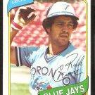 Toronto Blue Jays Rick Cerone 1980 Topps Baseball Card # 591 nr mt