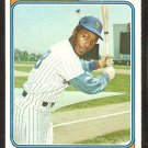 New York Mets John Milner 1974 Topps Baseball Card # 234 g/vg