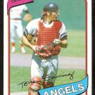 CALIFORNIA ANGELS BRIAN DOWNING 1980 TOPPS # 60 NR MT