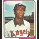 California Angels Bob Oliver 1974 Topps Baseball Card # 243 ex/em