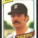 Detroit Tigers John Hiller 1980 Topps Baseball Card # 614 nr mt