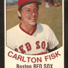 Boston Red Sox Carlton Fisk 1977 Hostess Baseball Card # 104