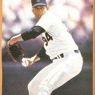Texas Rangers Nolan Ryan Cleveland Indians Sandy Alomar 1990 Pinup Photos