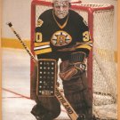 Boston Bruins Gerry Cheevers 1992 Pinup Photo