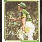 1974 Topps Baseball Card # 264 Oakland Athletics Joe Rudi vg