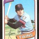 Minnesota Twins Glenn Borgmann 1980 Topps # 634 Nr Mt