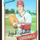 1980 Topps Baseball Card # 631 St Louis Cardinals Mark Littell nr mt