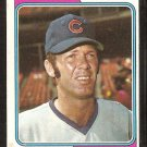 1974 Topps Baseball Card # 319 Chicago Cubs Randy Hundley vg