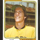 1974 Topps Baseball Card # 309 San Diego Padres Variation Dave Roberts vg/ex