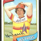 Houston Astros Ken Forsch 1980 Topps Baseball Card # 642 nr mt