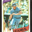 Chicago Cubs Larry Biittner 1980 Topps Baseball Card # 639 ex