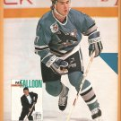 San Jose Sharks Pat Falloon 1992 Pinup Photo