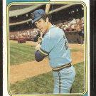 Milwaukee Brewers John Vuckovich 1974 Topps Baseball Card # 349 good