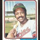 Minnesota Twins Larry Hisle 1974 Topps Baseball Card # 366 g/vg