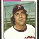 1974 Topps baseball card # 381 California Angels Charlie Sands vg/ex