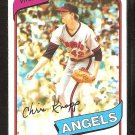 California Angels Chris Knapp 1980 Topps baseball card # 658 Nr Mt