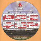 BOSTON RED SOX 2013 CIRCULAR MAGNETIC SCHEDULE WORST TO 1ST SEASON