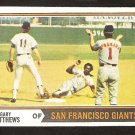 San Francisco Giants Gary Matthews 1974 Topps Baseball Card # 386 Vg