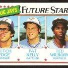 Toronto Blue Jays Future Stars Butch Edge Pat Kelly Ted Wilborn 1980 Topps # 674 ex/nm