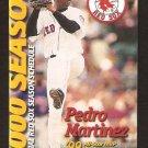 Boston Red Sox 2000 Pocket Schedule Pedro Martinez Coca Cola Classic Coke